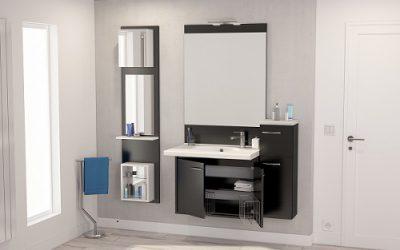 Le meuble salle de bain rétractable